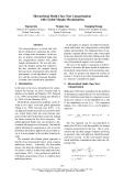 "Báo cáo khoa học: ""Hierarchical Multi-Class Text Categorization with Global Margin Maximization"""