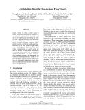 "Báo cáo khoa học: ""A Probabilistic Model for Fine-Grained Expert Search"""