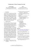 "Báo cáo khoa học: ""Fundamentals of Chinese Language Processing"""