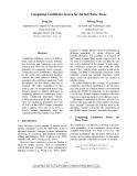 "Báo cáo khoa học: ""Computing Confidence Scores for All Sub Parse Trees"""