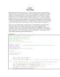 C++ Lab 3 Branching