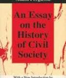 AN ESSAY on the HISTORY OF CIVIL SOCIETY.