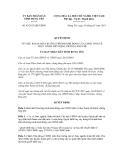 Quyết định số 02/2013/QĐ-UBND