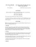 Quyết định số 211/QĐ-TTg