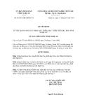 Quyết định số 01/2013/QĐ.UBND.VX