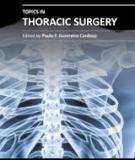 Topics in Thoracic Surgery Edited by Paulo F. Guerreiro Cardoso
