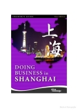 Doing business in Shanghai
