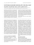 Báo cáo khoa học: Are UV-induced nonculturable Escherichia coli K-12 cells alive or dead?