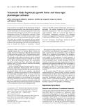 Báo cáo khoa học:  Tetranectin binds hepatocyte growth factor and tissue-type plasminogen activator