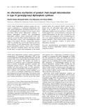 Báo cáo khoa học: An alternative mechanism of product chain-length determination in type III geranylgeranyl diphosphate synthase