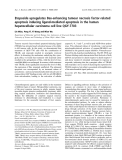 Báo cáo khoa học: Etoposide upregulates Bax-enhancing tumour necrosis factor-related apoptosis inducing ligand-mediated apoptosis in the human hepatocellular carcinoma cell line QGY-7703
