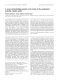 Báo cáo khoa học:  A novel retinol-binding protein in the retina of the swallowtail butterfly, Papilio xuthus