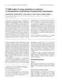 Báo cáo khoa học:  P NMR studies of energy metabolism in xanthosine5¢-monophosphate overproducing Corynebacterium ammoniagenes
