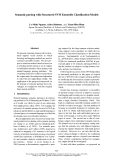 "Báo cáo khoa học: ""Semantic parsing with Structured SVM Ensemble Classification Models"""