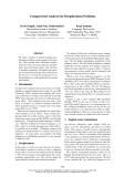 "Báo cáo khoa học: ""Unsupervised Analysis for Decipherment Problems"""