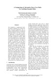 "Báo cáo khoa học: ""A Comparison of Alternative Parse Tree Paths for Labeling Semantic Roles"""