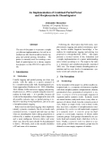 """Báo cáo khoa học: """"An Implementation of Combined Partial Parser and Morphosyntactic Disambiguator"""""""