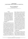 "Báo cáo khoa học: ""Hybrid Parsing: Using Probabilistic Models as Predictors for a Symbolic Parser"""