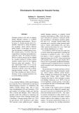 "Báo cáo khoa học: ""Discriminative Reranking for Semantic Parsing"""