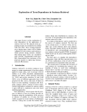 "Báo cáo khoa học: ""Exploration of Term Dependence in Sentence Retrieval"""