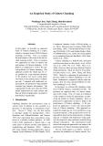 """Báo cáo khoa học: """"An Empirical Study of Chinese Chunking"""""""