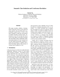 """Báo cáo khoa học: """"Semantic Class Induction and Coreference Resolution"""""""