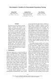 "Báo cáo khoa học: ""Discriminative Classifiers for Deterministic Dependency Parsing"""