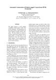 "Báo cáo khoa học: ""Automatic Construction of Polarity-tagged Corpus from HTML Documents"""