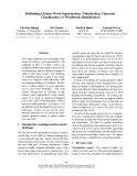 "Báo cáo khoa học: ""Rethinking Chinese Word Segmentation: Tokenization, Character Classification, or Wordbreak Identification"""