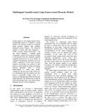 """Báo cáo khoa học: """"Multilingual Transliteration Using Feature based Phonetic Method"""""""