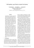 "Báo cáo khoa học: ""Self-Organizing Ò-gram Model for Automatic Word Spacing"""