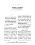 "Báo cáo khoa học: ""Substring-Based Transliteration"""
