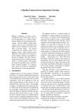 "Báo cáo khoa học: ""A Pipeline Framework for Dependency Parsing"""