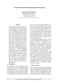 "Báo cáo khoa học: ""A Finite-State Model of Human Sentence Processing"""
