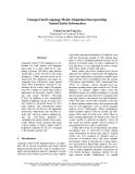 """Báo cáo khoa học: """"Unsupervised Language Model Adaptation Incorporating Named Entity Information"""""""