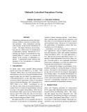 "Báo cáo khoa học: ""Minimally Lexicalized Dependency Parsing"""