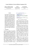 """Báo cáo khoa học: """"Concept Unification of Terms in Different Languages for IR"""""""