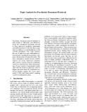 "Báo cáo khoa học: ""Topic Analysis for Psychiatric Document Retrieval"""