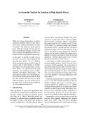"Báo cáo khoa học: ""An Ensemble Method for Selection of High Quality Parses"""