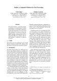 """Báo cáo khoa học: """"Outilex, a Linguistic Platform for Text Processing"""""""
