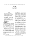 "Báo cáo khoa học: ""Coordinate Noun Phrase Disambiguation in a Generative Parsing Model"""