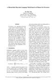 "Báo cáo khoa học: ""A Hierarchical Bayesian Language Model based on Pitman-Yor Processes"""