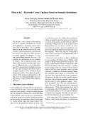 "Báo cáo khoa học: ""Electronic Career Guidance Based on Semantic Relatedness"""