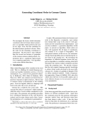 """Báo cáo khoa học: """"Generating Constituent Order in German Clauses"""""""