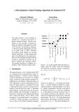 "Báo cáo khoa học: ""A Discriminative Global Training Algorithm for Statistical MT"""