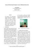 "Báo cáo khoa học: ""Bi-Directional Parsing for Generic Multimodal Interaction"""