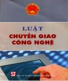 Ebook Luật chuyển giao công nghệ - NXB Chính trị Quốc gia Hà Nội