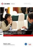 CEIBS MBA CAREER REPORT 2011