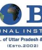 U.P. TECHNICAL UNIVERSITY  LUCKNOW -   MASTER OF BUSINESS ADMINISTRATION