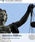 The Ethics of Competitive Intelligence